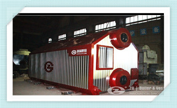 steam boiler, hot water boiler, thermic fluid heater …